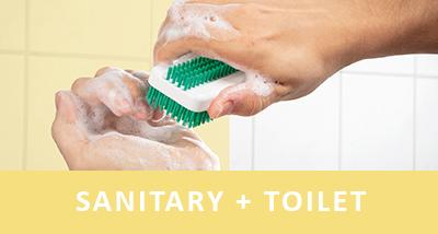sanitary + toilet