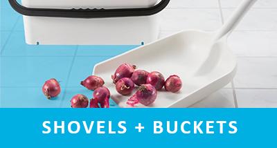 shovels + buckets